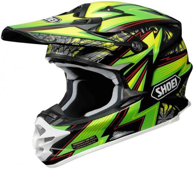 Shoei VFX-W Maelstrom Motocross Helmet