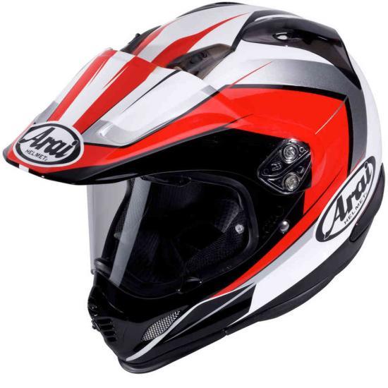 Arai Tour-X 4 Flare Enduro Helmet Red