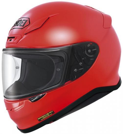 Shoei NXR Motorcycle Helmet Red