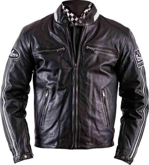 Helstons ACE Rag Leather Jacket