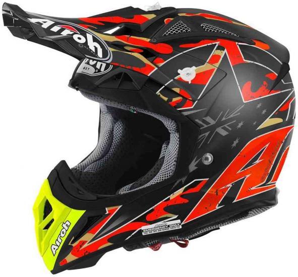 Airoh Aviator 2.2 Phillips Replica Motocross Helmet Orange