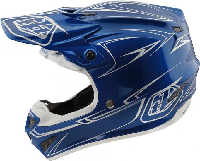 Troy Lee Designs SE4 PA Pinstripe Helmet