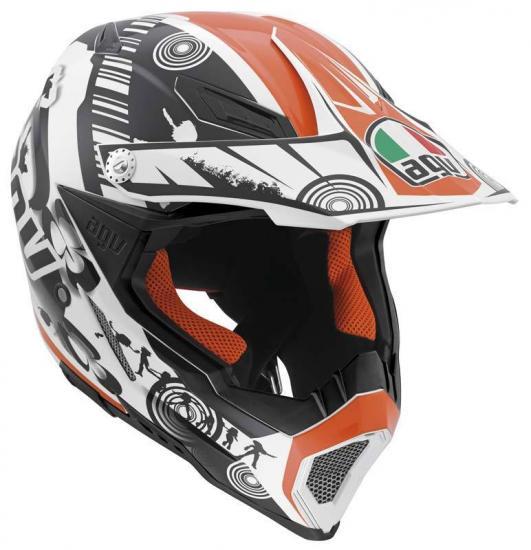 AGV AX-8 Evo Cool Motocross Helmet