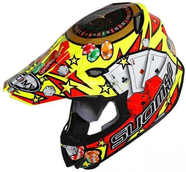 Suomy MR Jump Jackpot Motocross Helmet Yellow