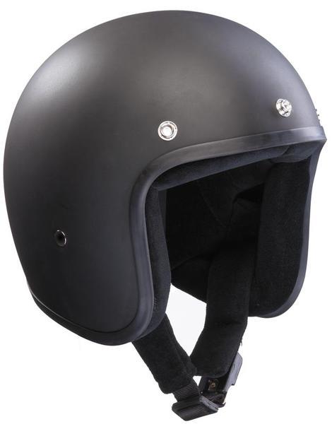 Bandit Jet Black Matt Jet Helmet