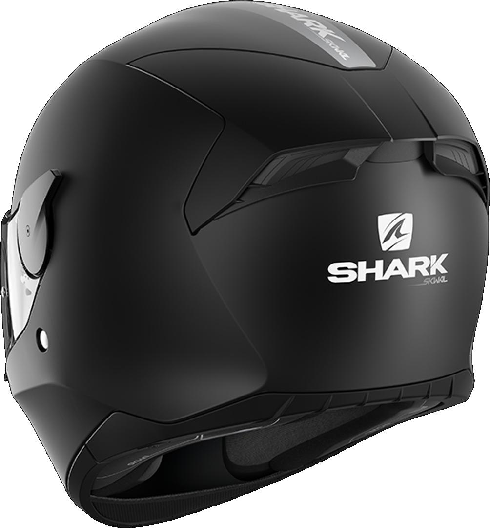 Shark D-Skwal 2 Blank MATT BLACK, SIZE L