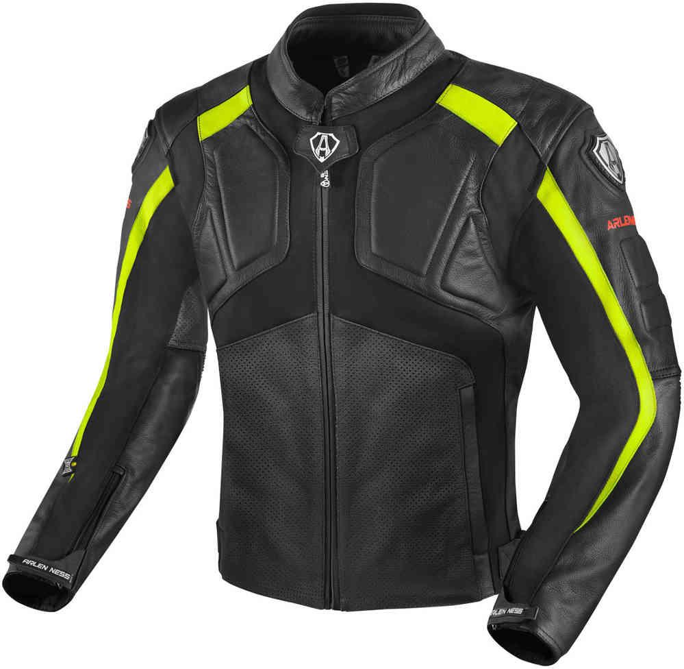 Arlen Ness Sportivo Motorcycle Leather Jacket