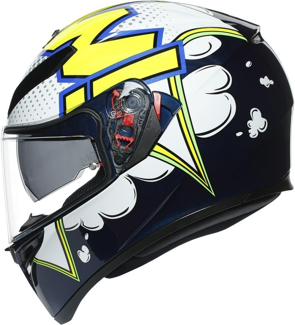 AGV K-3 SV Bubble Helmet