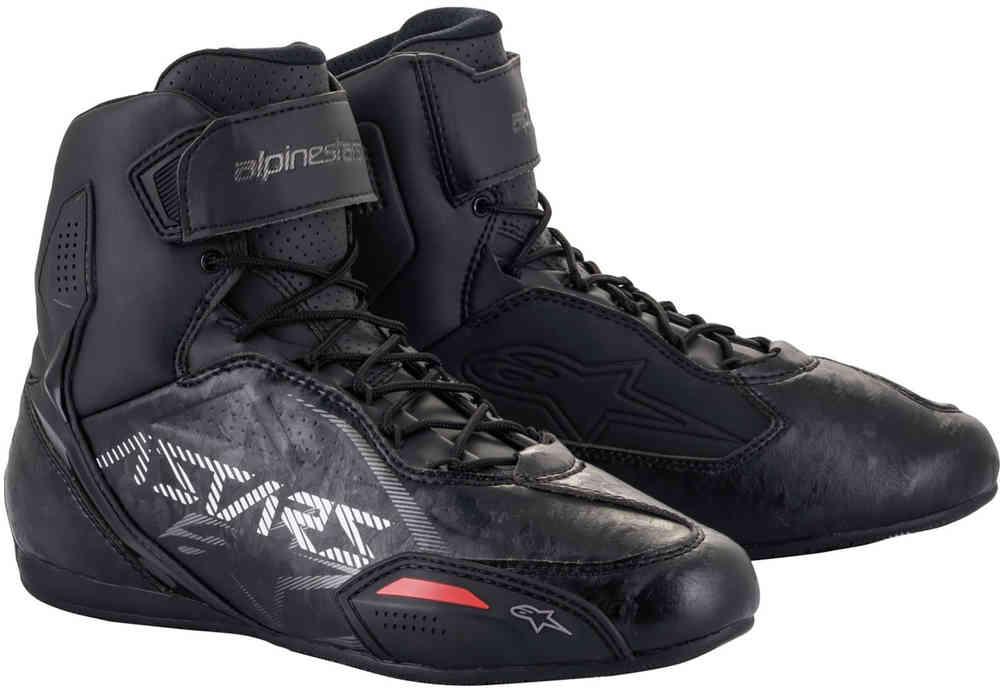 Alpinestars Faster 3 Gunmetal Motorcycle Shoes